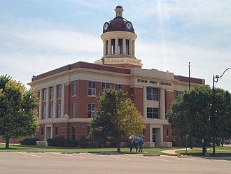 Beckham County, Oklahoma - Image: Beckham County Courthouse