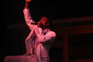 Beenie Man live beim Bob Marley Birthday Bash ...