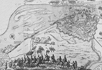 Siege of Riga (1656) - Image: Belägringen av Riga