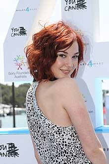 Bella Ferraro at Wharf4Ward fundraising 3.jpg