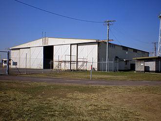 Bellman hangar - Maryborough, Queensland, 2008.