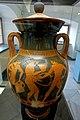 Belly amphora with komos, Kleophrades Painter, Attic, c. 500 BC, L 507, cover L 297 - Martin von Wagner Museum - Würzburg, Germany - DSC05459.jpg