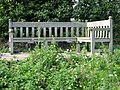 Bench dedicated to Worth Gardeners Society - geograph.org.uk - 581424.jpg