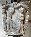 Benedetto antelami, capitello con storie della genesi 02, dal duomo di parma, 1178, lavoro dei progenitori.jpg
