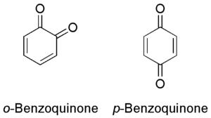 Benzoquinone - Image: Benzoquinones