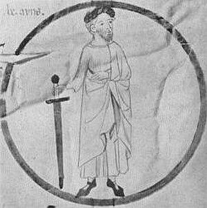 Berenguer Ramon I, Count of Barcelona - Image: Berenguer Ramon I. BarcelonskýPergamen Poblet