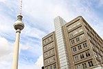 Berlin - Berliner Fernsehturm & Berolinahaus.jpg