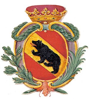 Coat of arms of Bern - The coat of arms of the State and Republic of Bern, around 1790.