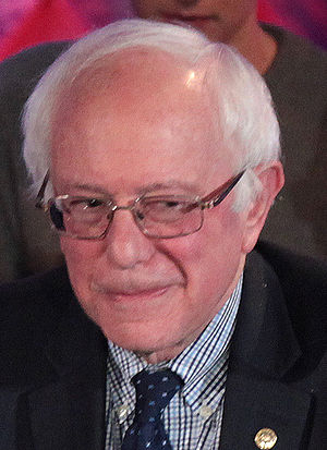 Democratic Party presidential debates and forums, 2016 - Image: Bernie Sanders (24227236262) (cropped)