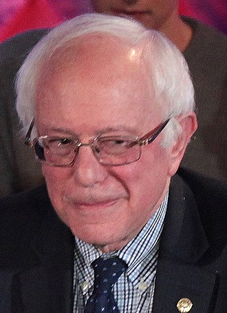 2016 Democratic Party presidential debates and forums - Image: Bernie Sanders (24227236262) (cropped)