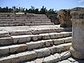 BetShe'an - stairs from a Roman temple.jpg
