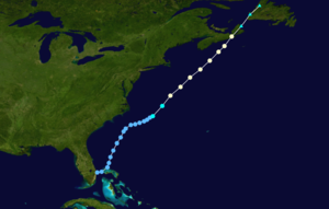 1971 in Canada - Hurricane Beth hit Nova Scotia in August