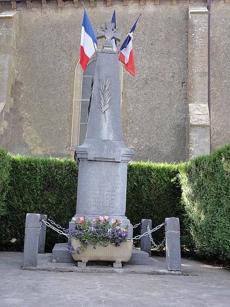 Beuveille (Meurthe-et-M.) monument aux morts