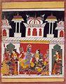 Bhairava Raga, Folio from a Ragamala (Garland of Melodies) LACMA M.71.1.14.jpg