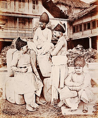 Bhatia caste - Bhatia men in western India (c.1855-1862)