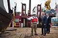 Biden and Casey at dredging barge 2014-10-16.jpg