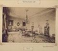 Biedermann-kastély, szalon. 1895-1899 között. Mozsgó. - Fortepan 83568.jpg
