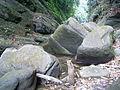 Big stone in Bandarban's hill.JPG