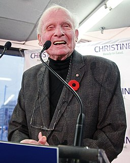 Bill Davis Canadian politician, former Premier of Ontario