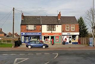 Bircotes Human settlement in England
