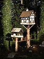 Bird box@Bird feeding station@Tortworth Court.JPG