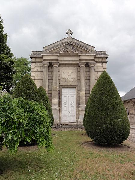 Blérancourt (Aisne) Hôtel de Fourcroy, chapelle