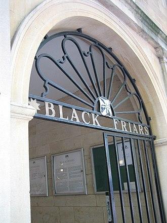 Blackfriars, Oxford - The entrance gate to Blackfriars