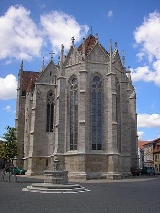Divi Blasii - Image: Blasiikirche Mühlhausen hinten