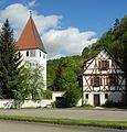 Blaustein - Kleines Lautertal, Kirche in Lautern.JPG
