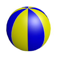 blender 3d noob to pro  multiple materials per object beach ball clipart images beach ball clipart coloring page