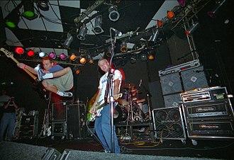Dude Ranch (album) - Blink-182 performing in Los Angeles in October 1996