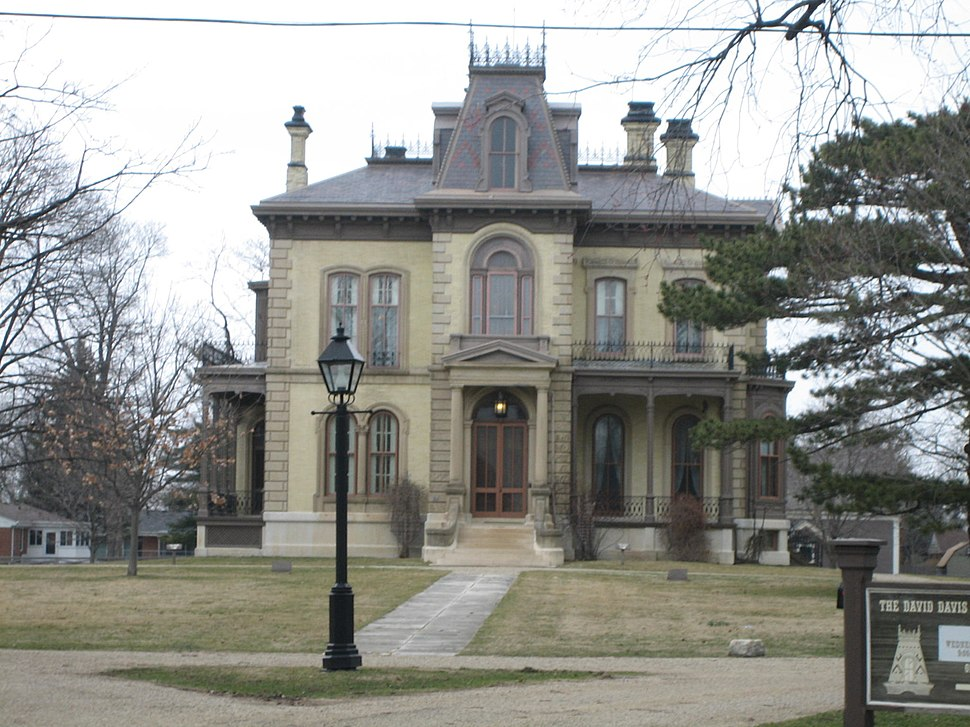 Bloomington Il David Davis Mansion3