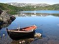 Boat on Gynnildvatnet.jpg