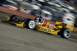 Bobby Rahal's Galles Racing wagen in 1991.