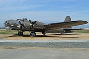 """Boeing B-17G Flying Fortress '44-6393' """"Starduster"""" (26948137531)"""