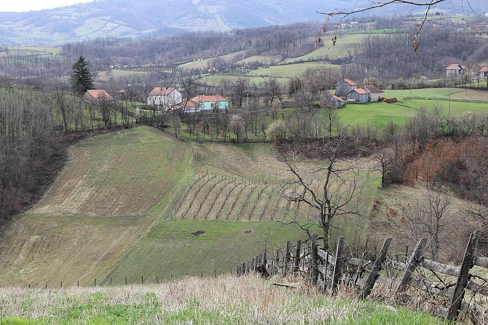 Bogatić - opština Valjevo - zapadna Srbija - panorama 4