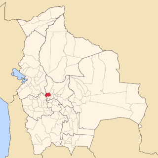Tapacarí Province Province in Cochabamba Department, Bolivia