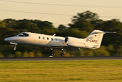 Learjet 35A der Phoenix Air