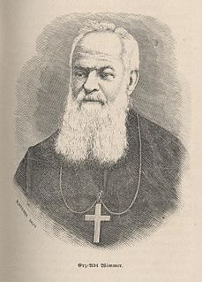 Boniface Wimmer Founder of first American Benedictine monastery