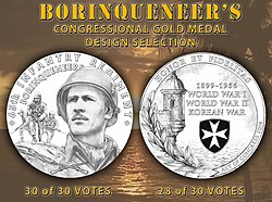 Design Of The Congressional Gold Medal Which Was Awarded To Borinqueneers 65th Infantry Regiment
