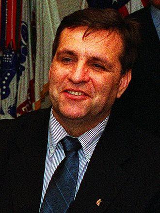 Boris Trajkovski - Trajkovski in May 2001