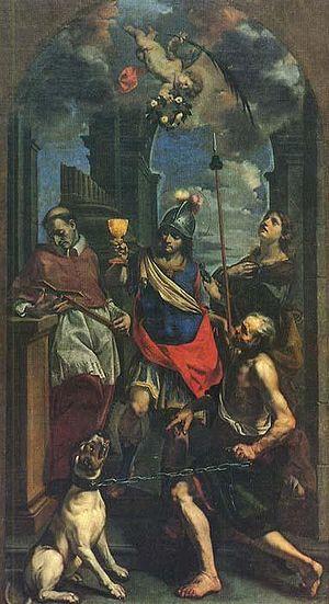 Cristoforo Savolini - Cristoforo Savolini, Saints Charles Borromeo, Domninus, and Apollonia