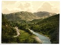 Borrowdale Valley, from Bowder Stone, Lake District, England-LCCN2002696842.tif