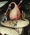 Bosch, Hieronymus - The Garden of Earthly Delights, right panel - Detail disk of tree man.jpg