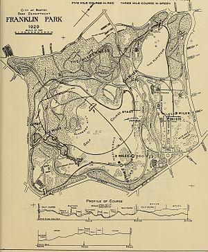 William J. Devine Memorial Golf Course - Franklin Park, 1929