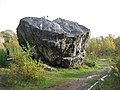 Boulder in Trowbarrow quarry - geograph.org.uk - 1003791.jpg