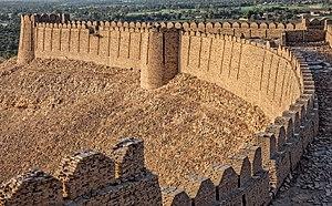 Kot Diji Fort - Image: Boundry of Kot Digi Fort