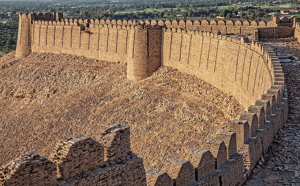 Boundry of Kot Digi Fort