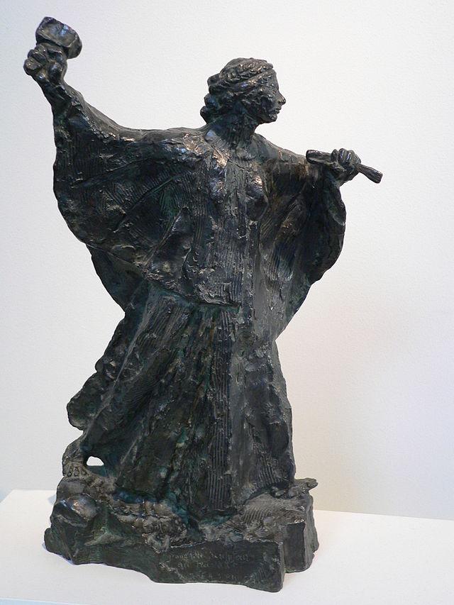 Émile Antoine Bourdelle 640px-Bourdelle_sculptress_p1070128