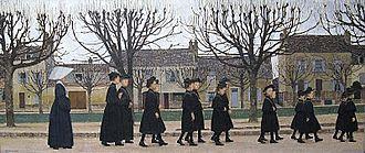 Bernard Boutet de Monvel - Image: Boutet de Montvel Le Pensionnat de Nemours 1909